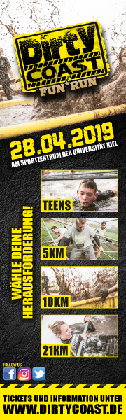 Dirty Coast Fun Run - es wird matschig in Kiel