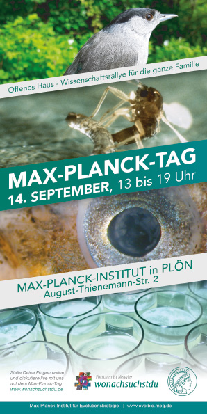 Max-Planck-Tag am 14. September in Plön