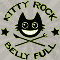Logo, Kitty Rock Belly Full, Kiel