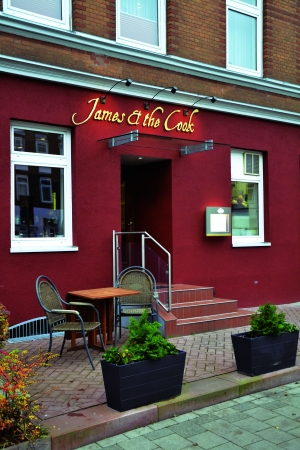 Foto, Restaurant James and the Cook, Kiel