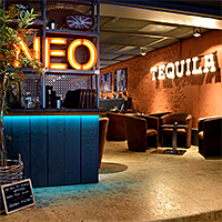 stylish und urban | NEO Bar Food Eventlocation