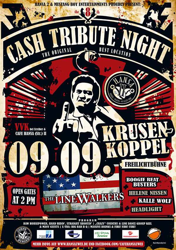 Foto, Cash Tribute Night, Kiel
