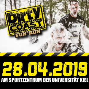 Logo, DIRTY COAST FUN RUN Kiel - am 24. Mai 2020, Kiel